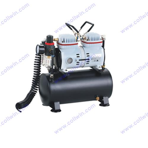 Airbrush Compressor with 6L Tank Support 5pcs Airbrush